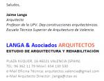 ARQ LANGA & Asociados ARQUITECTOS PERICIALES
